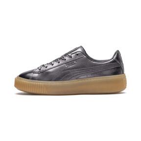 Thumbnail 1 of Basket Platform Luxe Women's Sneakers, QUIET SHADE-QUIET SHADE, medium