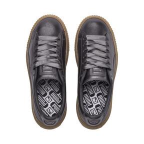Thumbnail 6 of Basket Platform Luxe Women's Sneakers, QUIET SHADE-QUIET SHADE, medium