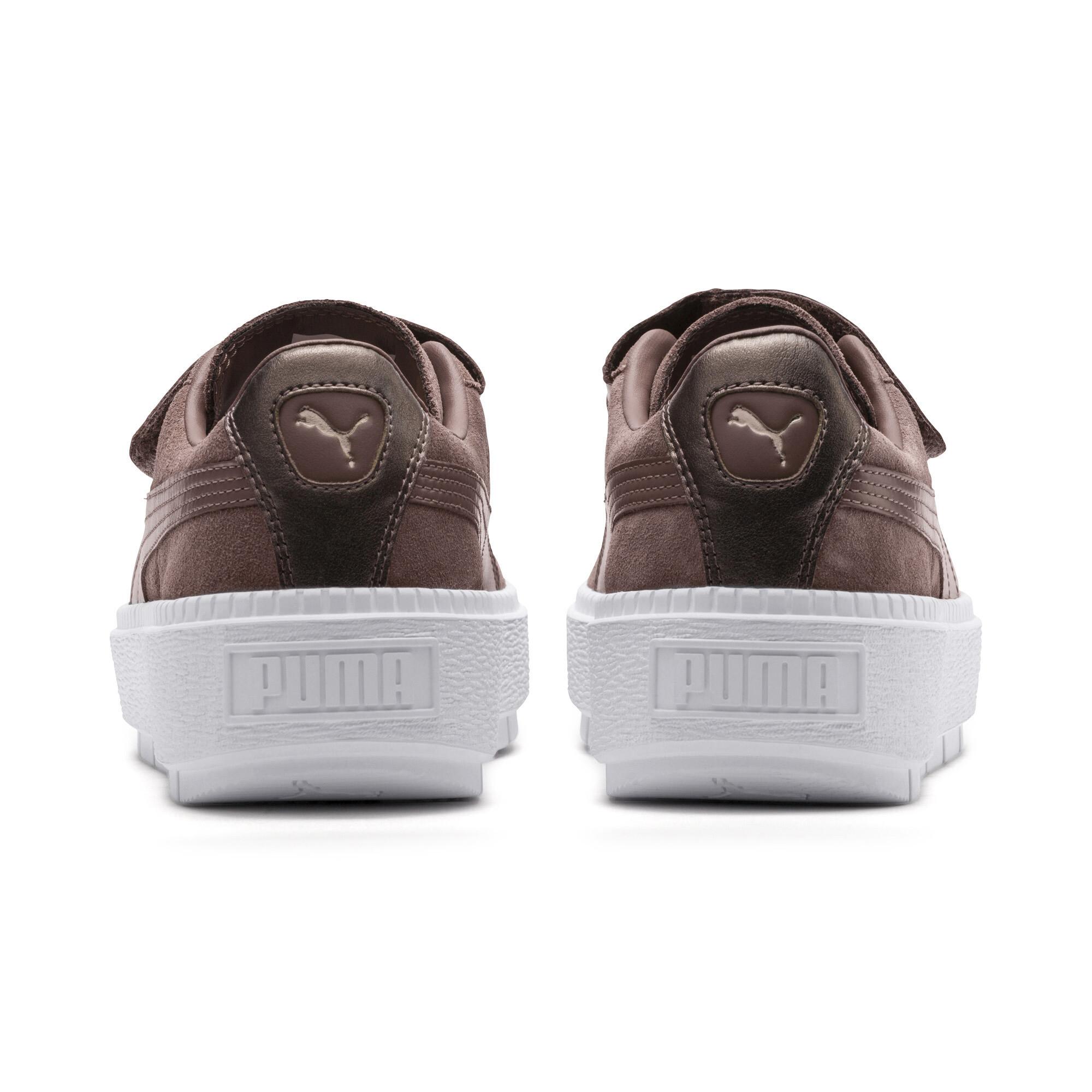 Image Puma Platform Trace Strap Escape Women's Sneakers #4