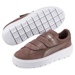 Thumbnail 2 of Platform Trace Strap Esc Women's Sneakers, 01, medium