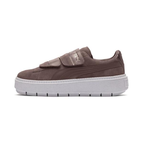 on sale 57982 28756 Platform Trace Strap Esc Women's Sneakers, Peppercorn-Peppercorn, large