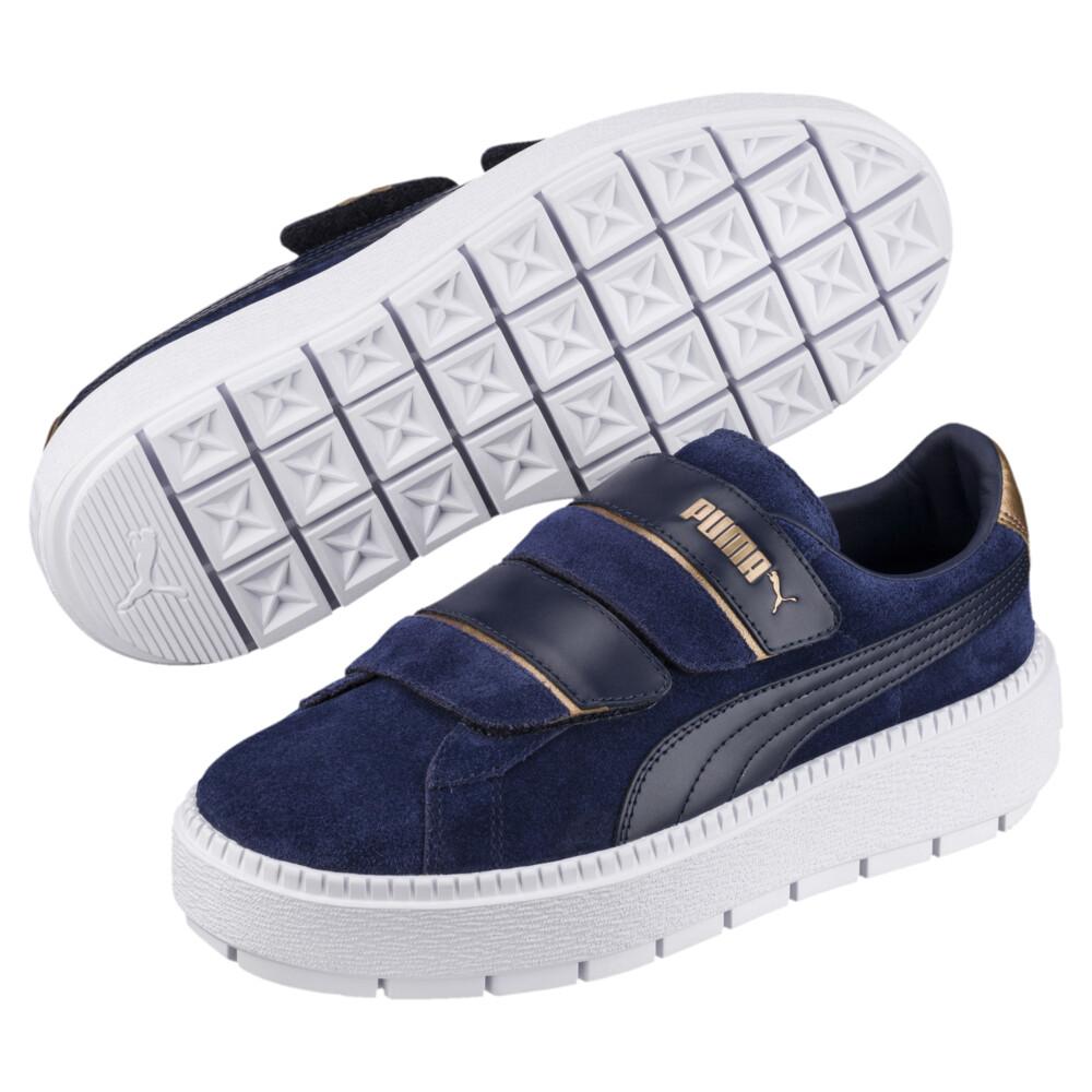 Image Puma Platform Trace Strap Escape Women's Sneakers #2
