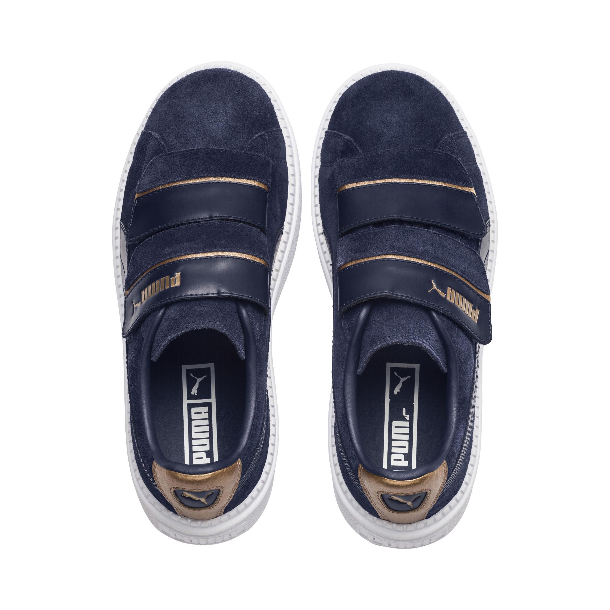 Image Puma Platform Trace Strap Escape Women's Sneakers #6