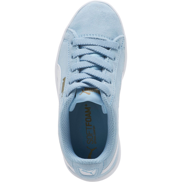 PUMA Vikky AC Sneakers PS, CERULEAN-White-Metallic Gold, large
