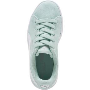 Thumbnail 5 of PUMA Vikky AC Little Kids' Shoes, Fair Aqua-Puma White, medium