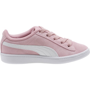 Thumbnail 3 of PUMA Vikky AC Sneakers PS, Pale Pink-Puma White, medium
