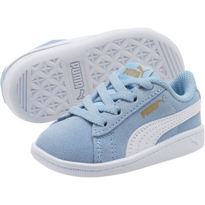 Thumbnail 2 of PUMA Vikky AC Sneakers INF, CERULEAN-White-Metallic Gold, medium