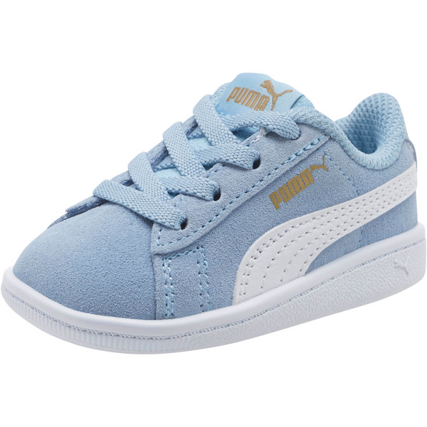 PUMA Vikky AC Sneakers INF, CERULEAN-White-Metallic Gold, large