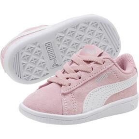 Thumbnail 2 of PUMA Vikky AC Toddler Shoes, Pale Pink-Puma White, medium
