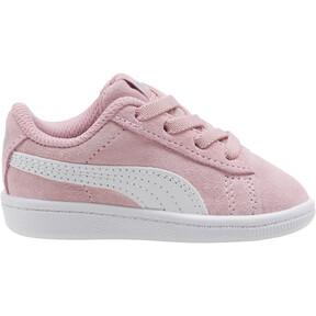 Thumbnail 3 of PUMA Vikky AC Toddler Shoes, Pale Pink-Puma White, medium