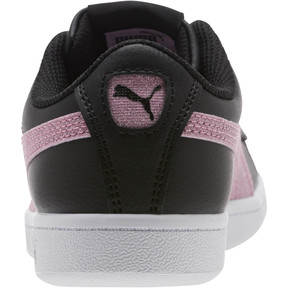 Thumbnail 4 of Puma Vikky Glitz FS Sneakers JR, Black-Orchid-Silver, medium