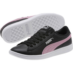Thumbnail 2 of Puma Vikky Glitz FS Sneakers JR, Black-Orchid-Silver, medium
