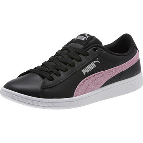 Thumbnail 1 of Puma Vikky Glitz FS Sneakers JR, Black-Orchid-Silver, medium