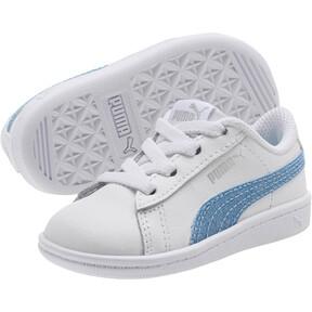 Thumbnail 2 of Puma Vikky Glitz FS AC Infant Sneakers, Puma White-CERULEAN-Silver, medium