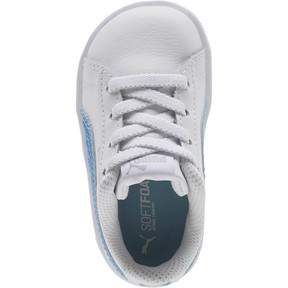 Thumbnail 5 of Puma Vikky Glitz FS AC Infant Sneakers, Puma White-CERULEAN-Silver, medium