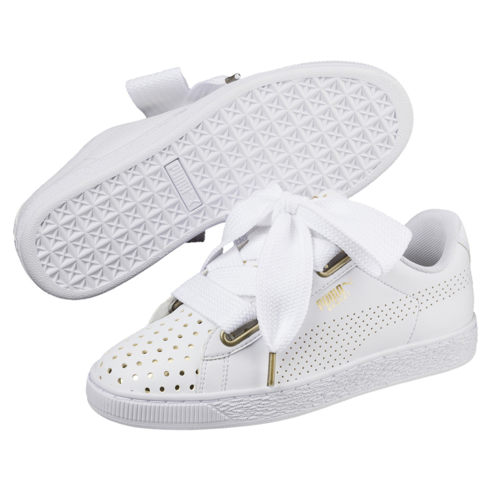 Image Puma Basket Heart Ath Lux Women's Sneakers #2