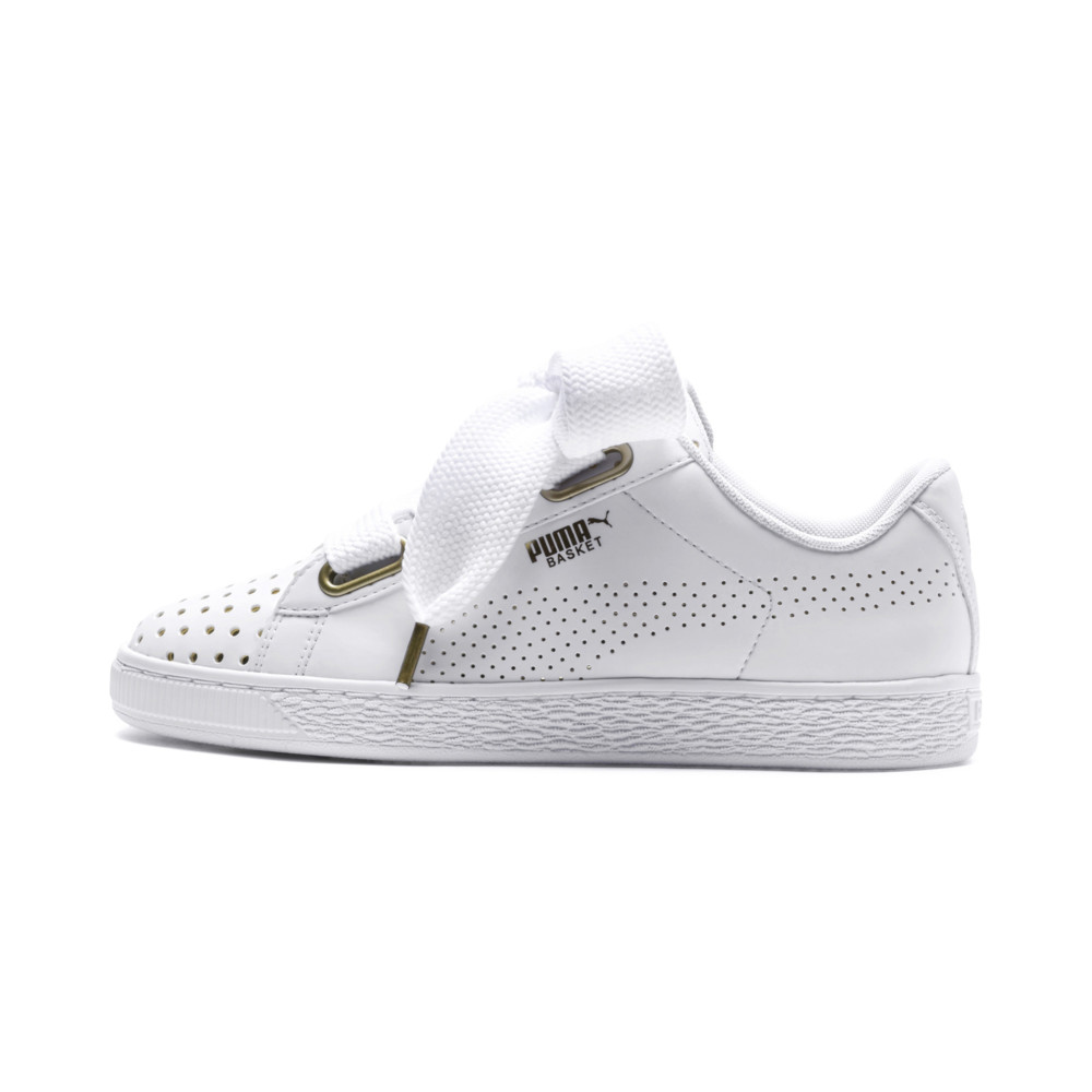 Image Puma Basket Heart Ath Lux Women's Sneakers #1