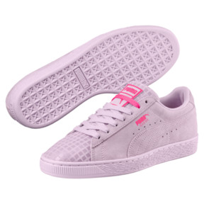 Thumbnail 2 of Suede Classic Street 2 Women's Sneakers, Wins Orchid-Puma Aged Silver, medium