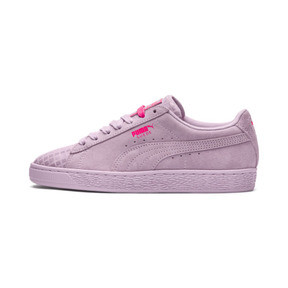 Thumbnail 1 of Suede Classic Street 2 Women's Sneakers, Wins Orchid-Puma Aged Silver, medium