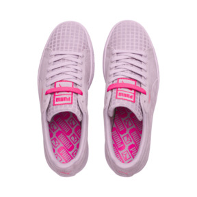 Thumbnail 6 of Suede Classic Street 2 Women's Sneakers, Wins Orchid-Puma Aged Silver, medium