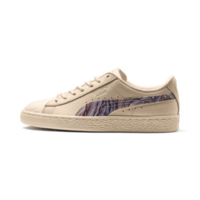 Thumbnail 1 of Basket Classic Mimicry Women's Sneakers, Vanilla Cream-Vanilla Cream, medium