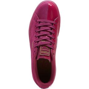 Thumbnail 5 of Basket Classic LunarGlow Women's Sneakers, Magenta Haze-Metallic Bronze, medium