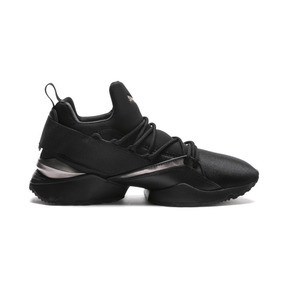 Thumbnail 5 of Muse Maia Luxe Women's Sneakers, Puma Black-Puma Black, medium