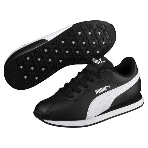 Zapatos deportivos Turin II para JR, Puma Black-Puma White, grande