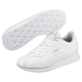 Thumbnail 2 of Turin II Sneakers JR, Puma White-Puma White, medium