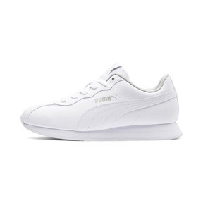 Thumbnail 1 of Turin II Sneakers JR, Puma White-Puma White, medium