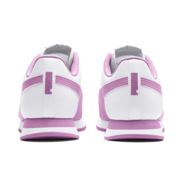Turin II Sneakers JR, Puma White-Orchid, large