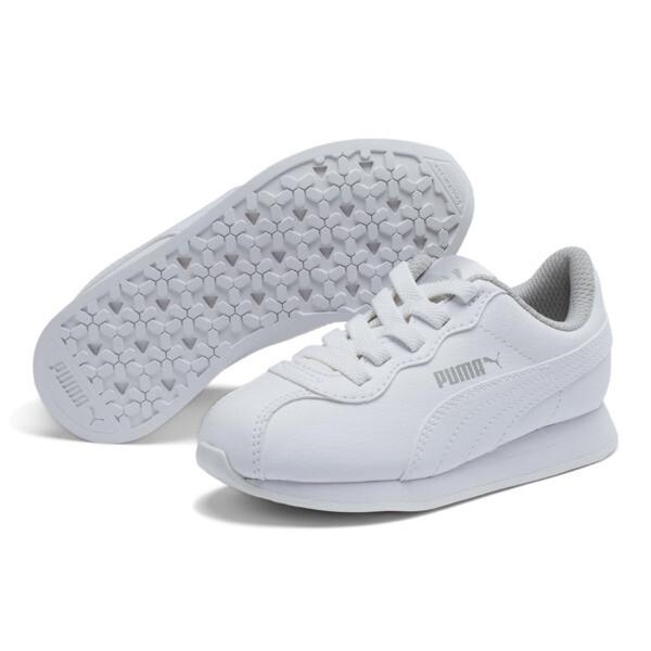 ZapatosTurin II AC para niños, Puma White-Puma White, grande