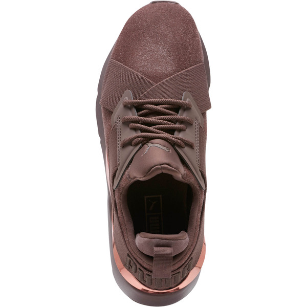 Muse Lunar Glow Women's Sneakers, Peppercorn-Rose Gold, large