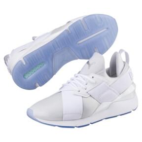 Thumbnail 2 of Muse Ice Women's Sneakers, Puma White-Puma White, medium
