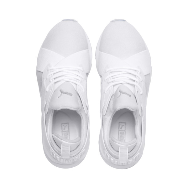Muse Ice Women's Sneakers, Puma White-Puma White, large