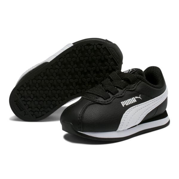 Turin II AC Toddler Shoes, Puma Black-Puma White, large