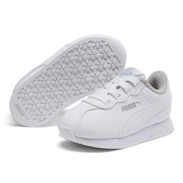 Turin II AC Toddler Shoes, Puma White-Puma White, large