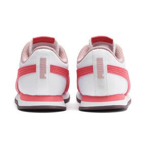 Thumbnail 3 of Turin II AC Toddler Shoes, Puma White-Calypso Coral, medium