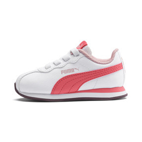 Thumbnail 1 of Turin II AC Toddler Shoes, Puma White-Calypso Coral, medium
