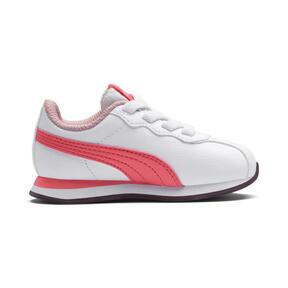 Thumbnail 5 of Turin II AC Toddler Shoes, Puma White-Calypso Coral, medium