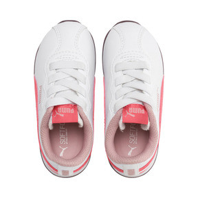 Thumbnail 6 of Turin II AC Toddler Shoes, Puma White-Calypso Coral, medium