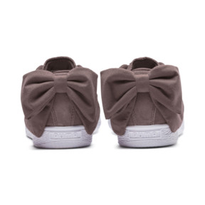 Thumbnail 4 of Suede Bow Women's Sneakers, 01, medium