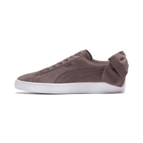 Thumbnail 1 of Suede Bow Women's Sneakers, 01, medium