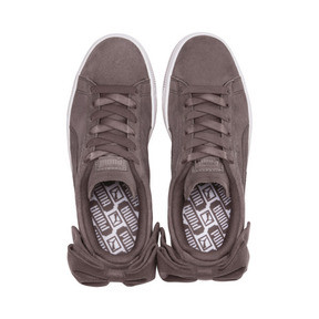 Thumbnail 6 of Suede Bow Women's Sneakers, 01, medium