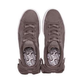Thumbnail 6 of Suede Bow Women's Sneakers, Peppercorn-Peppercorn, medium