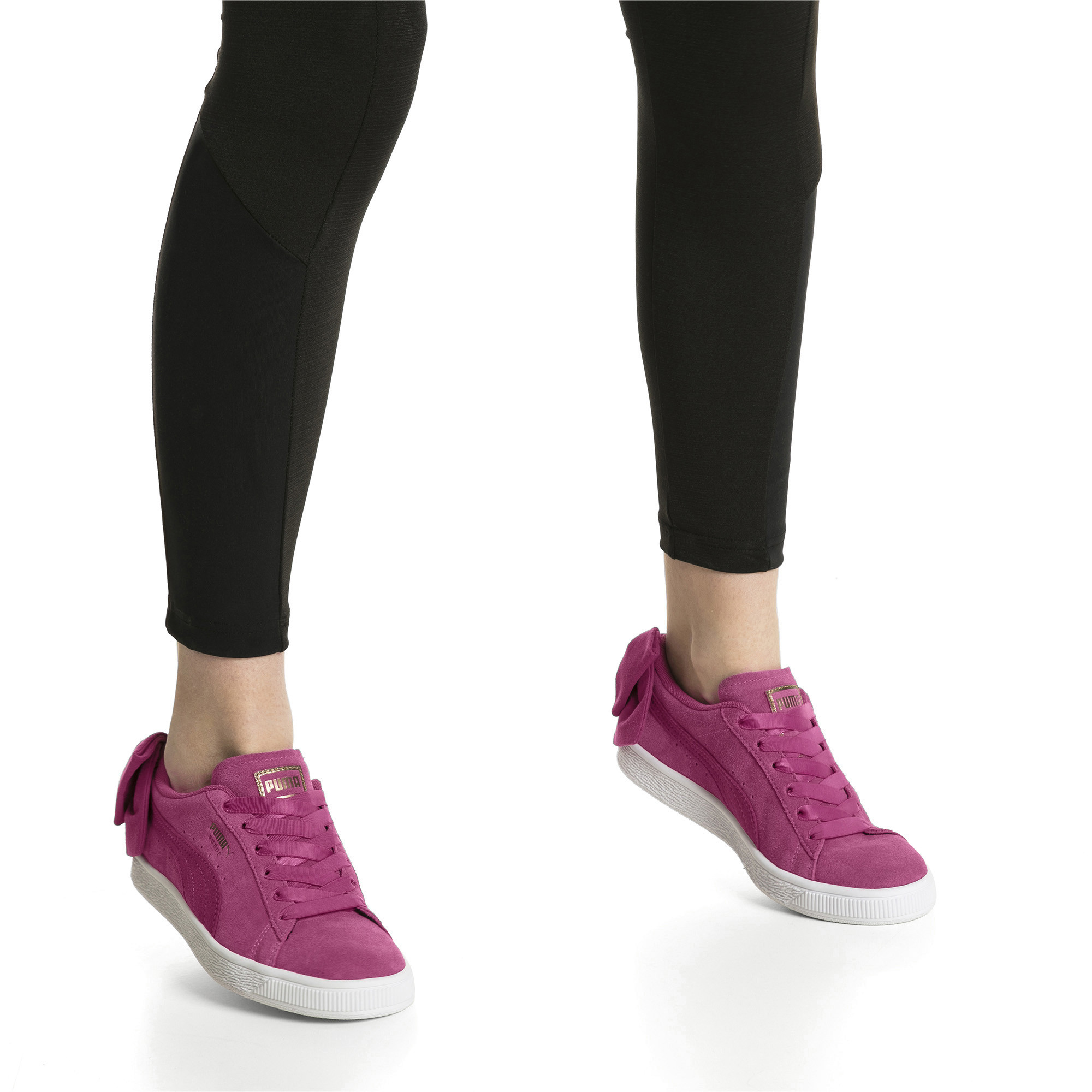 Image Puma Suede Bow Women's Sneakers #7