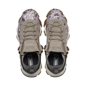 Thumbnail 6 of Trailfox Camo Sneakers, Elephant Skin-Whisper White, medium
