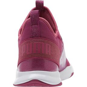 Thumbnail 4 of Puma Dare Trainer Bling Sneakers, Magenta Haze-Magenta-White, medium