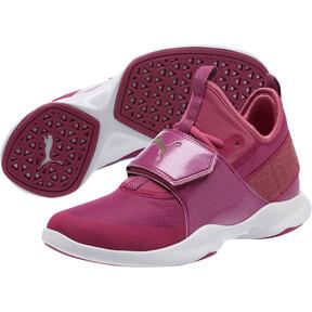Thumbnail 2 of Puma Dare Trainer Bling Sneakers, Magenta Haze-Magenta-White, medium