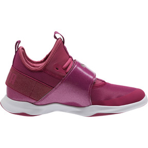 Thumbnail 3 of Puma Dare Trainer Bling Sneakers, Magenta Haze-Magenta-White, medium